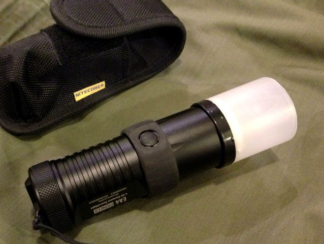 NITECORE EA4+Diffuser use position